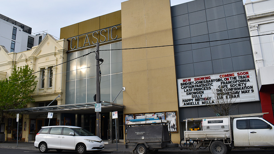 Classic Cinemas in Elsternwick