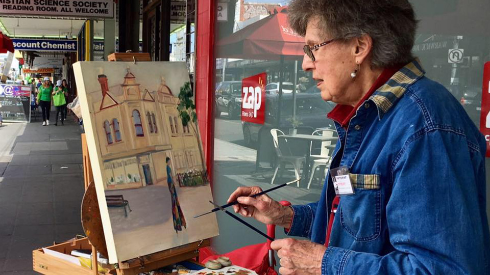 Art in action by Caulfield Rotary Club and Glen Eira Artists' Society