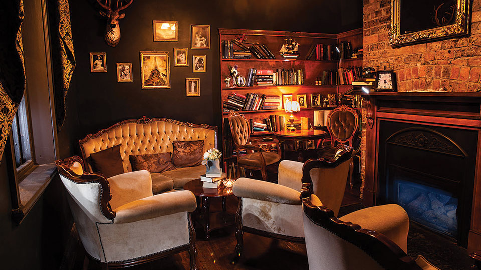 Antique Bar - Library