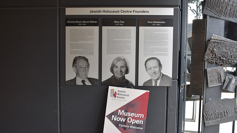 Explore the history of the Jewish Holocaust Centre in Elsternwick
