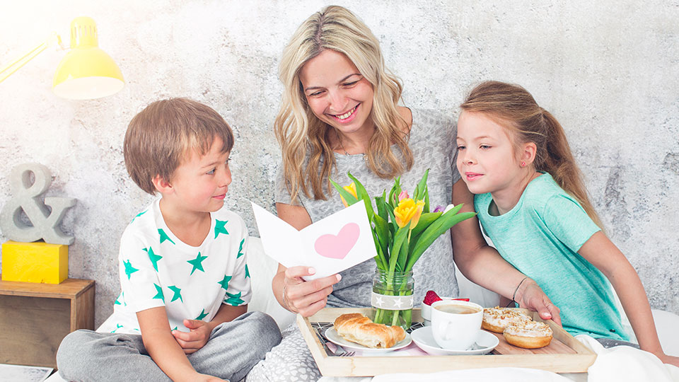 Think outside the box to treat Mum this Mother's Day