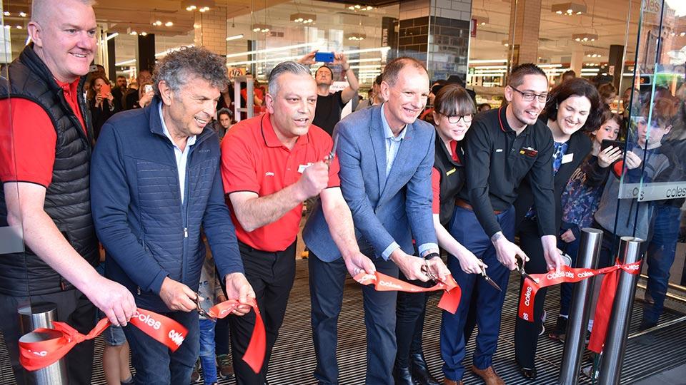 Coles Elsternwick re-opens