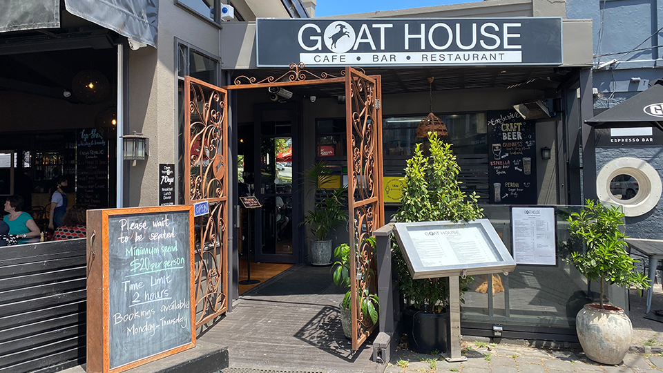 Shop stories: Explore The Goat House Cafe Bar Restaurant in Elsternwick Village