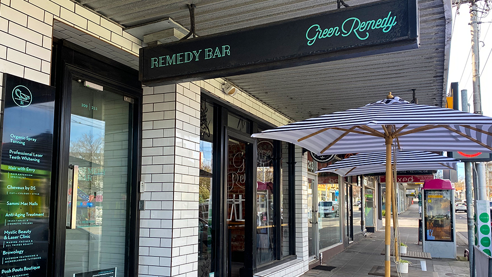 Shop stories: Explore Remedy Bar and Green Remedy in Elsternwick Village